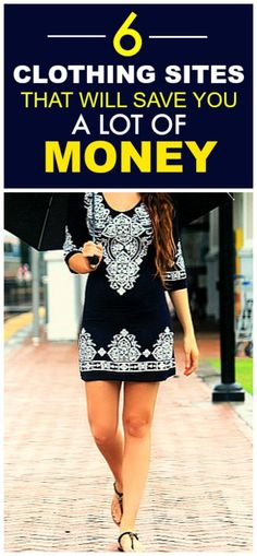 These 6 budget friendly clothing sites are THE BEST! I'm so glad I found this…