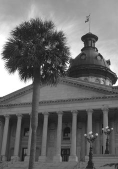 South Carolina State House - Columbia, SC.    I lived here from 1968 to 1972. I was Chief Chaplain at the SC State Mental Hospital with 3,000 patients.