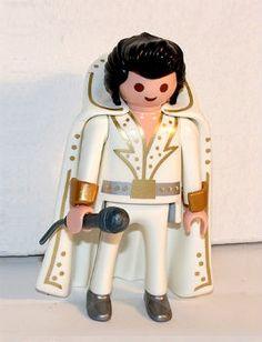 "Playmobil figurine de collection "" Elvis Presley "" , état neuf.....http://www.playboutik.com/achat-elvis-presley-335560.html"