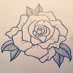 rose tattoo designs - Google Search                                                                                                                                                                                 More
