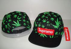 2013-new-black-green-leaf-supreme-5-panel-baseball-strapback-hats-and-caps-for-men-sport.jpg (807×562)