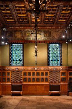 Herzog & De Meuron  . Park Avenue Armory's Veterans Room restoration . New York