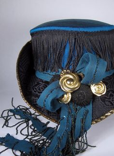 025bd2fa The newest riding hat, with fringe on top :) Crafted from scratch using silk