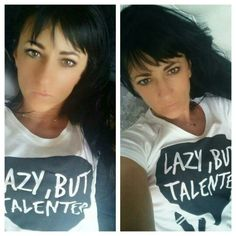 Lazy but talented