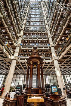 Lloyds of London London Architecture, Unique Architecture, Lloyd's Of London, London Photos, Hopkins Architects, Building Museum, London Photographer, Fantasy City, Architectural Photographers