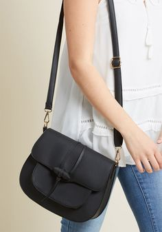 Give Them Something to Toggle 'Bout Bag in Black, #ModCloth