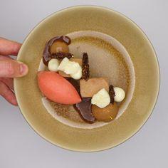 structuren van chocolade | Leslie Taels  & Ilse De Dobbeleer | De Schalk. Archiving Food Photography | Gastronomy