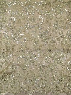 Reembroidered Beige