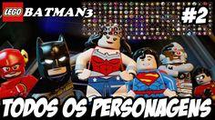 LEGO Batman3 MOSTRANDO TODOS OS PERSONAGENS #2