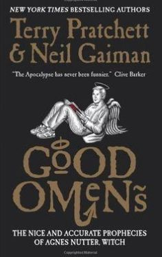 Good Omens by Neil Gaiman and Terry Pratchett.  A clever, witty, creative and book I would recommend to anyone. There are demons, angels, witches, bikers, aging mediums/dominatrixes - everything you could want. It made me laugh a lot and then it made me think a little. Click through for full review. Via Diamonds in the Library.