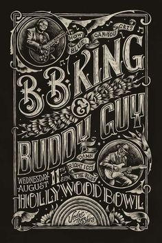 Blues Poster by Christopher Martin