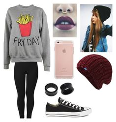 """""""Hanging with my squad ~Chloe"""" by xxthaliaxx ❤ liked on Polyvore featuring Converse, NOVICA, Adolescent Clothing and Keds"""