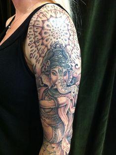 गणेश Ganesha Tattoo