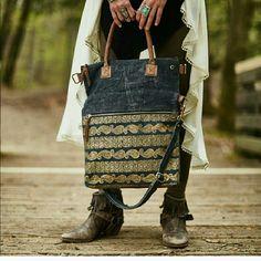Mona B Drama Queen Messenger Bag