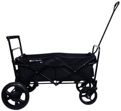 Go-Go Babyz Folding Wagon Stroller Cart, Black Hands free foot brake. Folds down flat for easy Storage. Straight, 3 position telescoping push handle with foam comfort grip. Cheap Strollers, Best Baby Strollers, Double Strollers, Best Lightweight Stroller, Best Double Stroller, Double Prams, Twin Pram, Folding Wagon, Kids Wagon