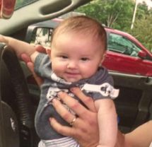 RIP 8 month old Carter Donovan:  She was beaten to death by her mother's boyfriend.
