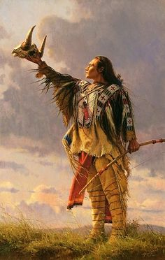 """{{Prayer for the Buffalo by Steve Atkinson}} The Sioux word for the healing art is """"wah-pee-yah,"""" which literally means readjusting or making anew. """"Pay-jee-hoo-tah,"""" literally root, means medicine, and """"wakan"""" signifies spirit or mystery. Thus the three ideas, while sometimes associated, were carefully distinguished."""