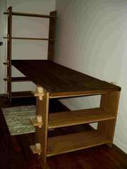 Nomad furniture & storage!  Pull it apart for easy travel!