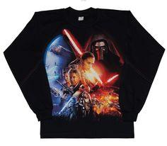 Bluzka Stars Jedi-chłopiec Graphic Sweatshirt, Sweatshirts, Fashion, Tunic, Moda, Fashion Styles, Trainers, Sweatshirt, Fashion Illustrations