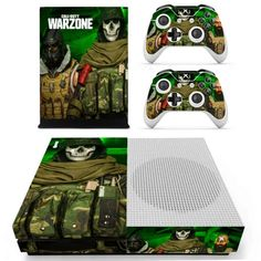War Zone Xbox one S Skin   Xbox one S wrap – Console skins world Console Styling, Xbox One S, Games To Play, War, Console Table Styling