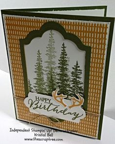 Stampin Up 2015 Holiday Catalog. Wonderland Stamp Set. See more at The Scrap Tree www.thescraptree.com
