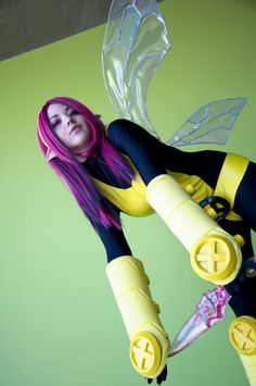 Cosplay Cavern » X-Men Pixie Cosplay...You don't see this one often