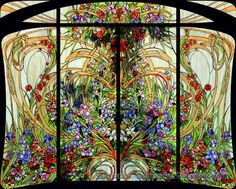 I selected this image to show the brightness of color when a stained glass image is lit from behind which is similar to how I would like to play with the difference between front light and back light with transparency.
