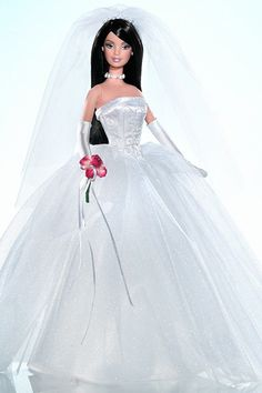 Wedding-day Barbies: David's Bridal Unforgettable Barbie (2004)