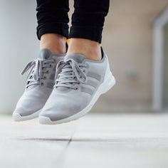 new arrival 7ad2c 23b51 adidas Originals ZX Flux ADV Verve W White Grey Camo The Far