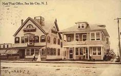 Cape May County NJ Picture Postcards and Images Page 46 Sea Isle City, Friends Laughing, The Rest Of Us, History Projects, Picture Postcards, Cape May, My Happy Place, Post Office, Vintage Postcards