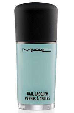 MAC Cosmetics nail polish in Pistachio Creme (available April 11)