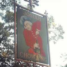Chowning's Tavern Sign by miss_english428 via Instagram.