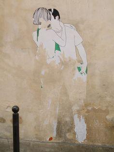 Paris street art - my favorite.