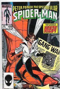 Peter Parker, The Spectacular Spider-Man #105 Marvel Comics VF/NM