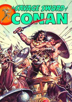 Age Of Barbarian, Conan The Barbarian Comic, Saga, Conan O Barbaro, Marvel Comics, Ed Roth Art, Halloween Artwork, Savage Worlds, Arte Cyberpunk