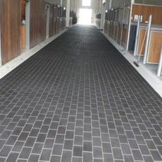 Rubber Pavers For Horse Barns