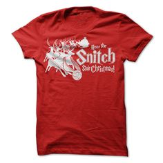 (Top Tshirt Charts) How the Snitch Stole Christmas [Tshirt design] Hoodies, Tee Shirts