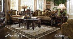 Livingroom sets | Furniturevictorian Windsor Court Sectional Living Room Set