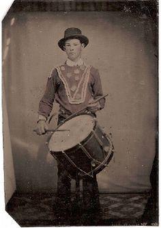 near Civil war era drummer