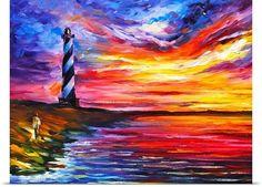 """Lighthouse"" - Leonid Afremov"