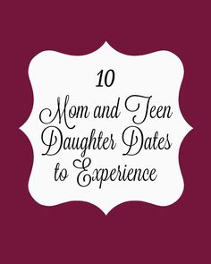 Before they are moving out and college bound, make the most of the time you have. Here are 10 Mom and Teen Daughter Dates to experience! @walmart #WhatMonthlyPain ad