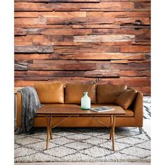Vlies photo wallpaper Wooden wall