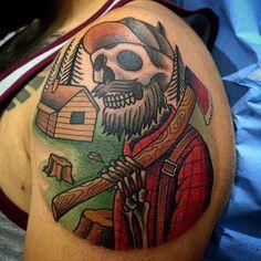Lumbersexual Cool Tattoos, January, Coolest Tattoo, Nice Tattoos