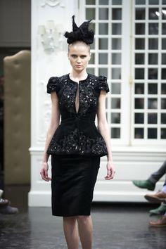 Peplum: redefined elegance