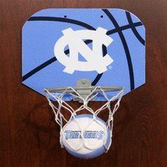 Rawlings North Carolina Tar Heels (UNC) Slam Dunk Softee Hoop Set