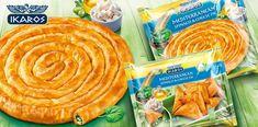 Αποτέλεσμα εικόνας για spanakopita packaging Food Pack, Spanakopita, Packaging Design, Spinach, Peanut Butter, Snack Recipes, Chips, Chocolate, Fruit
