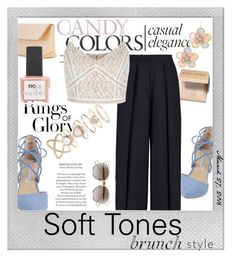 """""""Soft Tones"""" by teennetwork ❤ liked on Polyvore featuring Polaroid, Tiffany & Co., Kristin Cavallari, Christian Dior, Mixit, Iala Díez, Bobbi Brown Cosmetics, Iris & Ink, Accessorize and ncLA"""