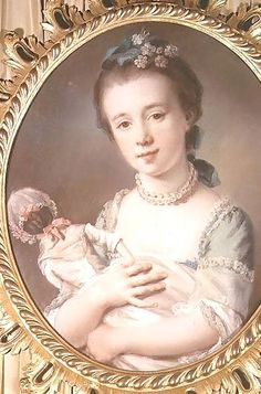 This could be Elsie with one of her dolls. [portrait Selina Chambers by Francis Cotes] http://collections.vam.ac.uk/item/O1043449/selina-chambers-pastel-cotes-francis-ra/ SATYR'S SON #Roxton Family Saga