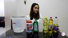 sabão líquido com ariel