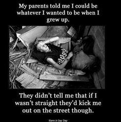 Lgbt Homeless Awareness